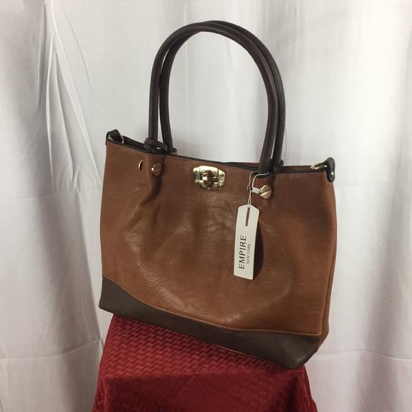 Empire New York Handbags - Empire NY Brown Handbag Purse